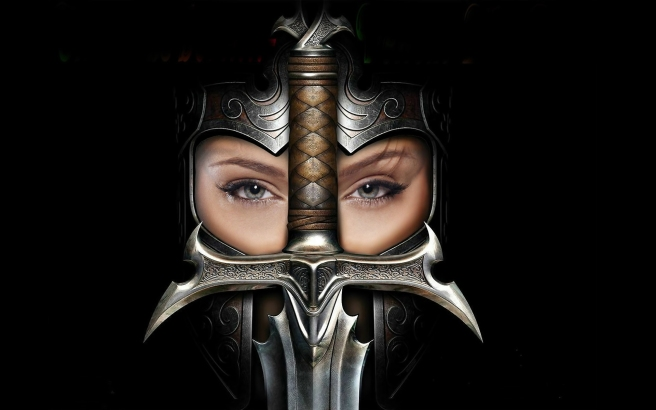 7038962-woman-knight