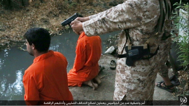 Image result for isis execute kneeling men